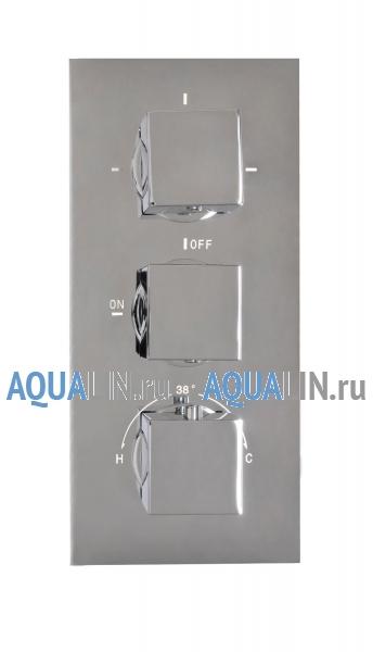 Душевая панель Jonha, 16 душ тропический с LED-подсветкой, ручной душ, SPA-гидромассаж, термостат, скрытый монтаж