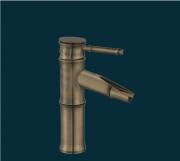 """Смеситель для ванной Deco BF5030, стиль """"бамбук"""", античная латунь"""