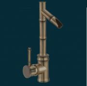 """Смеситель для раковины Deco BF5029, античная отделка, """"бамбук"""" дизайн"""