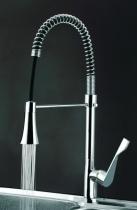 Смеситель для кухни с подсветкой воды Classic A01261