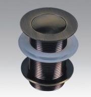 Донный клапан без перелива Antique DR1004, античная латунь