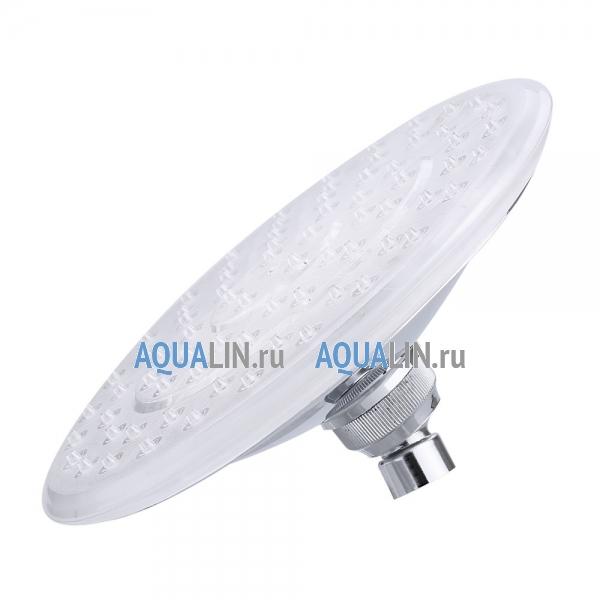 Автоматическая насадка для верхнего душа 8, LED-подсветка, круглая