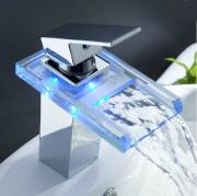 Смеситель-водопад с подсветкой воды Murano A00178