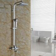 """Душевая система 8"""" с LED-подсветкой, ручной душ, наружный монтаж, Rainfall 05145"""